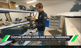 Paddon Motorsport EV Update MoTeC hardware