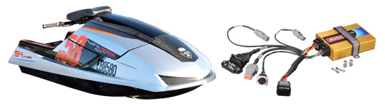 17/may/2010 new motec plug-in ecu gives hydrospace pwc racers a boost