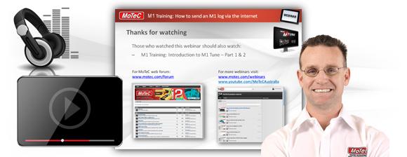 MoTeC > Training > Learn with Webinars